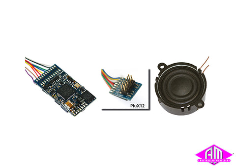 "LokSound V4.0 M4 ""Universal sound for reprogramming"", PluX12 on cable 65400"