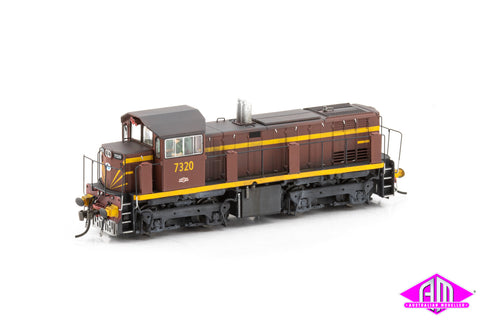 73 Class Locomotive 7320 Tuscan 73-19 Weathered