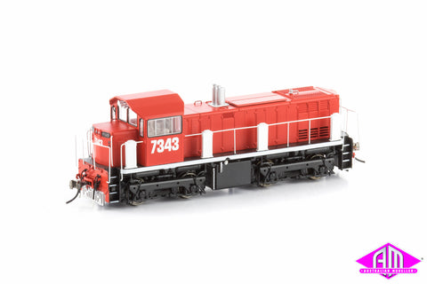 73 Class Locomotive 7343 Red Terror