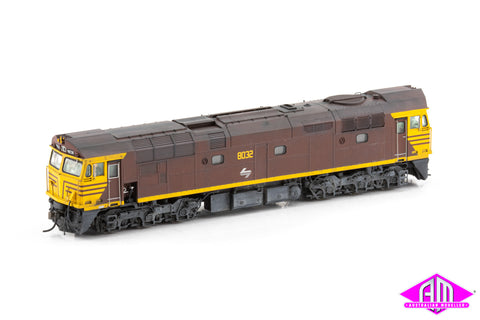80 Class 8032 Reverse - with narrow front V and side L7 Weathered DCC Sound