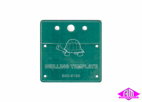 Tortoise Drilling Template For Switch Machine