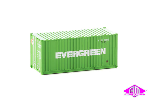 20' Rib-Side Container Evergreen