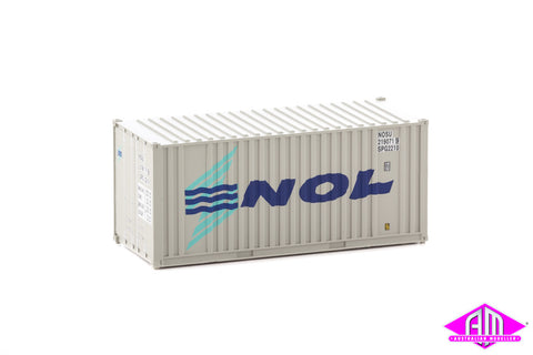 20' Container With Flat Panel NOL