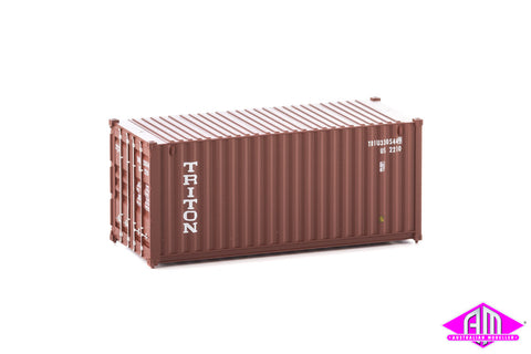 20' Container Fully Corrugated Triton