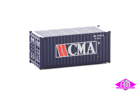 20' Container Fully Corrugated CMA