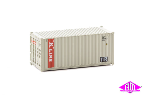 20' Container Fully Corrugated K Line
