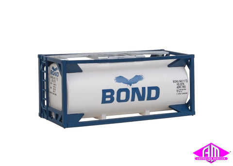 20' Tank Container Bond, Pre Painted Unassembled Kit
