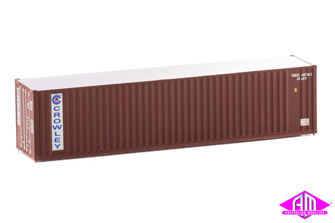 40' Hi-Cube Corrugated Container Crowley