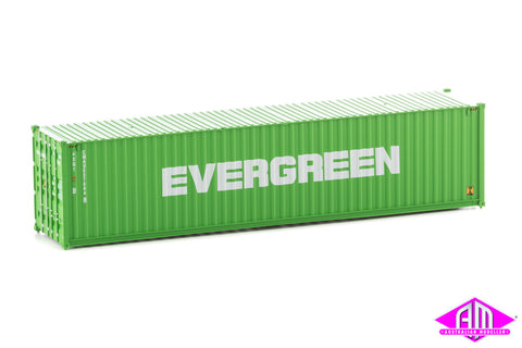 40' Hi-Cube Corrugated Container Evergreen