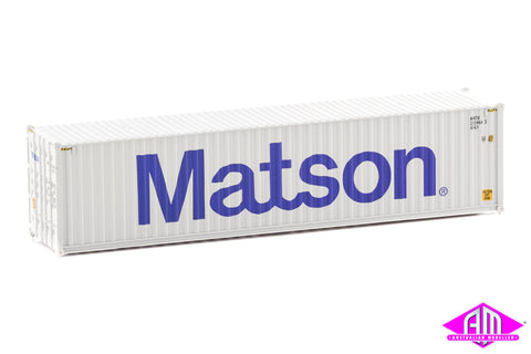 40' Hi-Cube Corrugated Container Matson