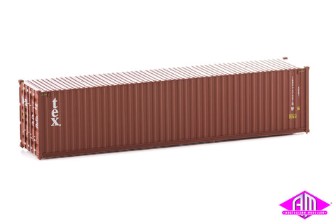 40' Hi-Cube Corrugated Container TEX