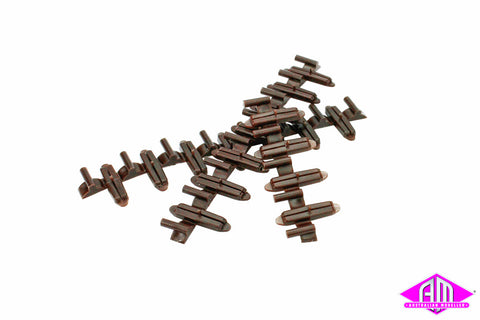 HO Code 83 Insulated Rail Joiners (20pc) 85502