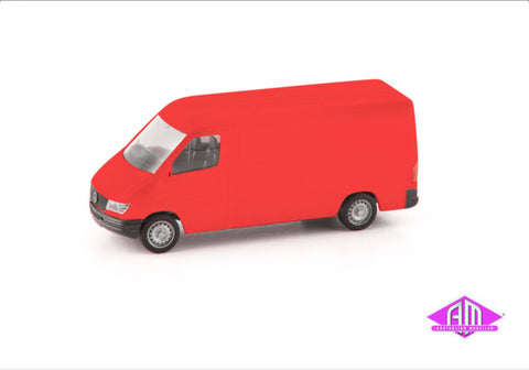 Mercedes-Benz Sprinter Box Van - Red