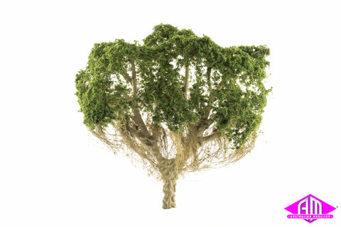 Australian Tree - Dark Green - 150mm high, 1 per pack