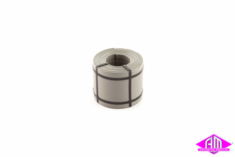 Coil Steel Load Size 4 Steel Colour 14.8mm W x 18.0mm D 5pc AMA-5