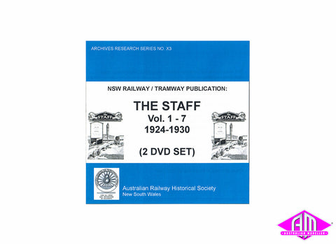 NSW Railway / Tramway The Staff Vol.1 - 7 1924-1930