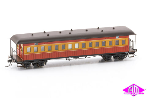 Nswgr End Platform Cars Set 64 Venetian Red Amp Russet Fo033