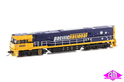 NON-POWERED NR Class Locomotive NR80 Pacific National 5 Stars