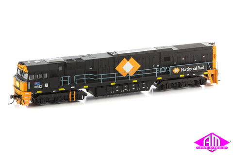 POWERED NR Class Locomotive NR52 National Rail Black