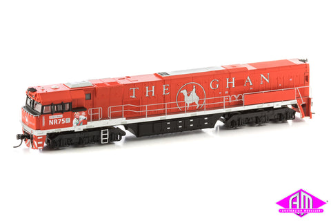 POWERED NR Class Locomotive NR75 The Ghan Steve Irwin