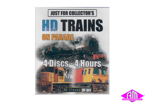HD Trains On Parade Blu Ray 4 disc set