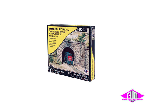 Single Portal Random Stone - HO Scale (1pc)