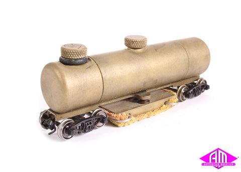 Brass track cleaning car with pad HO scale