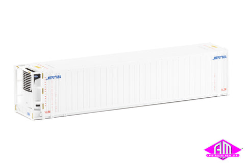 "46'6"" Reefer Container NTFS V2 small Logo Twin Pack CON-102"