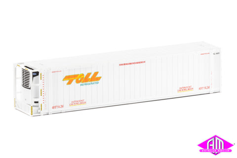 "46'6"" Reefer Container Toll V1 Refrigerated Twin Pack CON-103"
