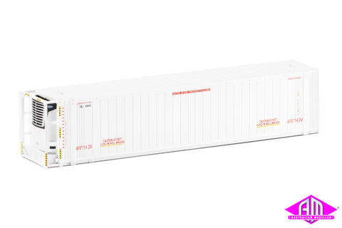 "46'6"" Reefer Container Toll V2 No Logo Twin Pack CON-104"