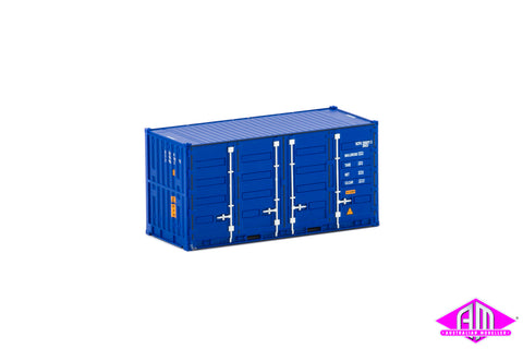 20' Side Door Container SCF dark blue Twin Pack CON-113
