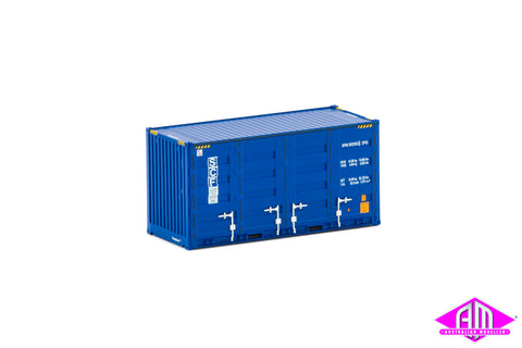 20' Side Door Container SCF Blue Twin Pack CON-117