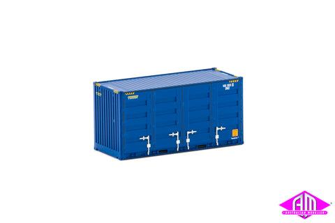 20' Side Door Container Patrick Blue Twin Pack CON-118