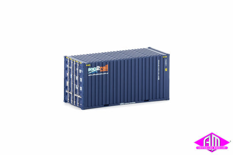 20 Foot Hi-Cube Container Sea-2-Rail Twin Pack CON-11