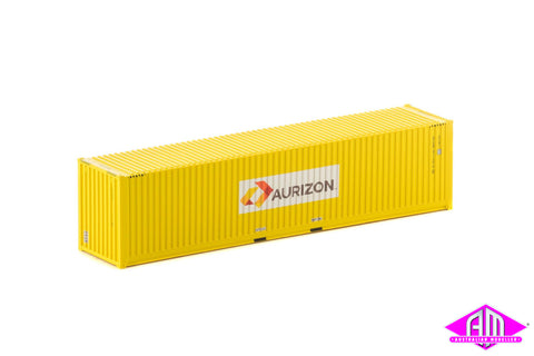 40 Foot Container Aurizon V2 Yellow - Twin Pack CON-128