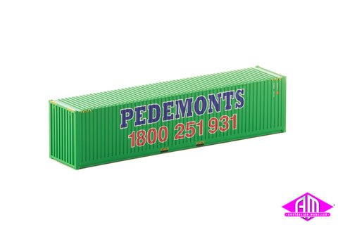 40 Foot Container Pedemonts Green V1 - Twin Pack CON-145
