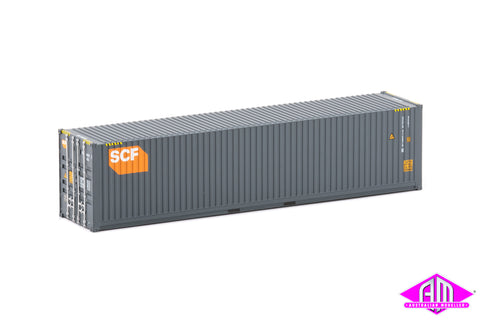 40 Foot Container SCF Grey, Orange Logo Twin Pack CON-154