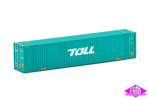 48' High Cube Container Toll new logo Twin Pack CON-155