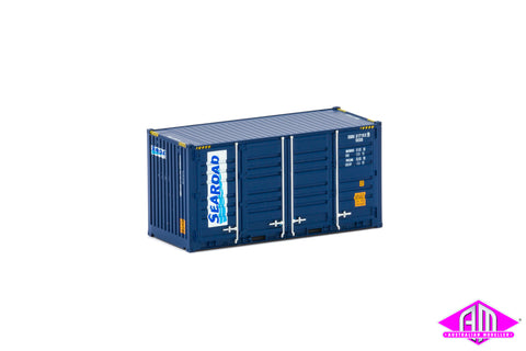 20' Side Door Container SeaRoad blue Twin Pack CON-163