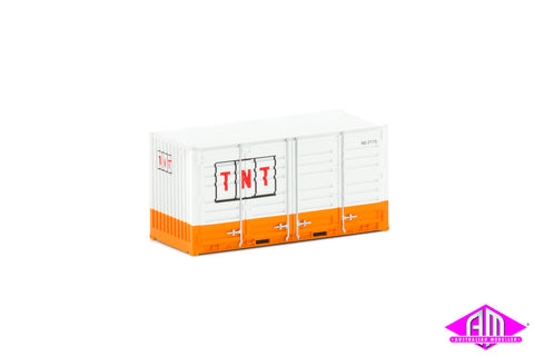 20' Side Door Container TNT Small Logo Twin Pack CON-164