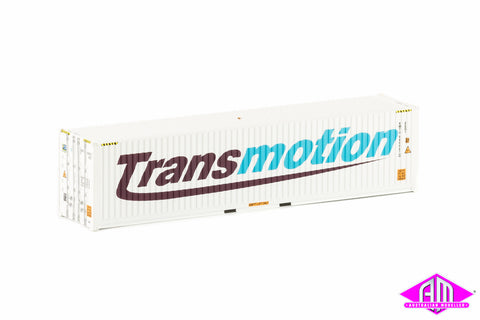 40 Foot Container Transmotion White Twin Pack CON-16