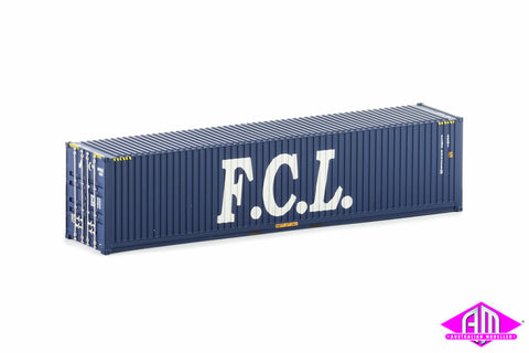 40 Foot Container FCL Blue Version 3 Twin Pack CON-19