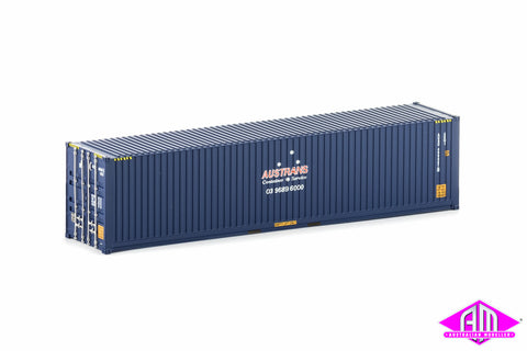 40 Foot Container Austrans Containers Blue Version 1 Twin Pack CON-24