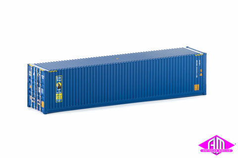 40 Foot Container Royal Wolf Blue Version 1 Twin Pack CON-26