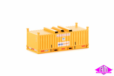 RH/RV Container Pacific National Yellow Twin Pack CON-39