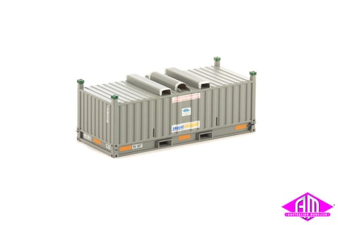 RH/RV Container Pacific National Grey Twin Pack CON-45