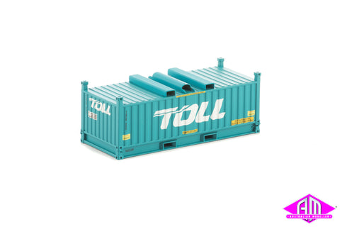 RH/RV Container Toll Green Twin Pack CON-50