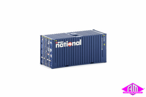 20 Foot Hi-Cube Container GESEACO NATIONAL with roof hatch Twin Pack CON-4