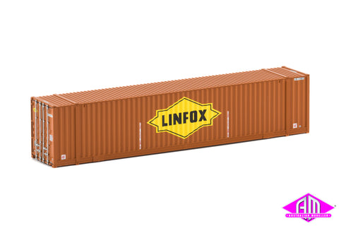48' High Cube Container Linfox brown large logo Twin Pack CON-64