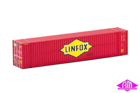 48' High Cube Container Linfox large logo side rib Twin Pack CON-67